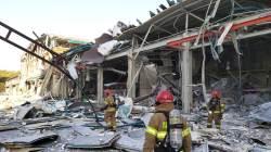 강릉 과학단지 수소탱크 폭발, 2명 사망 6명 부상