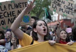 [서소문사진관]기후를 위한 학교 파업, 세계 청소년들 거리로 나서다