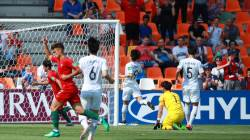 [U-20월드컵] 정정용호, 포르투갈전 0-1로 전반 종료