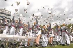 [한 컷] 5000명 여성 장교 배출 웨스트포인트