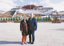 [사진] 티베트 간 주중 미국 대사