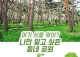 [카드뉴스] 여기 서울 맞아? 나만 알고 싶은 동네 공원 5