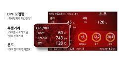 디젤 자동차 매연저감장치(DPF) 관리, OBD2 스캐너 어플로 관리 가능