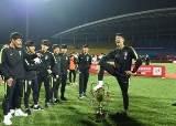 우승하고 트로피 뺏긴 한국 U-18 축구대표팀