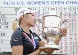 한국 여골퍼 비하 가장 큰 복수···이정은6 US오픈 우승