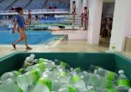 """""""중국 물만 줘라"""" vs """"국산생수 제공""""…세계수영대회 '생수부족' 논란"""