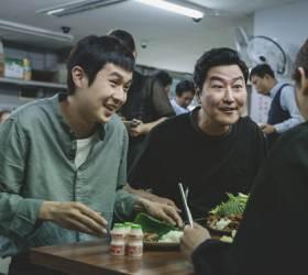 '기생충' 짜파구리·종북개그…<!HS>칸<!HE><!HS>영화제<!HE>서 빵빵 터진 비결