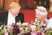 """트럼프 스타일…여왕엔 """"위대한 여성"""" 런던시장엔 """"루저"""""""