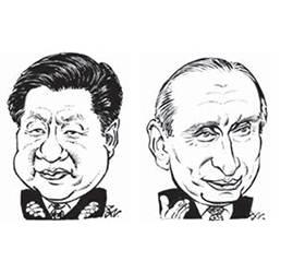 시진핑·<!HS>푸틴<!HE> '5G동맹'…트럼프 보란듯 뭉쳤다