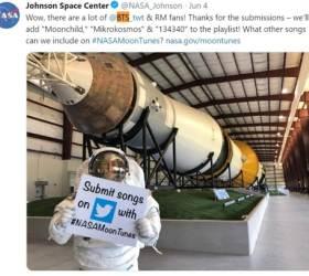 방탄소년단 노래, 美 NASA <!HS>달<!HE> <!HS>탐사<!HE>선서 울려 퍼진다