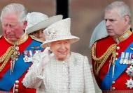 [서소문사진관]영국 여왕 93세 생일…로열패밀리 한자리에