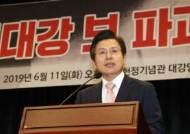 """황교안 '막말 프레임' 정면돌파 """"아무거나 막말이라고 하는 게 막말"""""""
