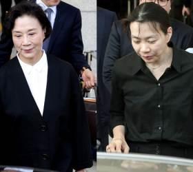 [속보] '해외명품 밀수' <!HS>조현아<!HE> 모녀 징역형…집행유예로 구속 면해