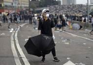 """홍콩 시위에 영국 """"상황 우려…대화 통해 자유‧권리 수호를"""""""