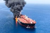 아베, 이란서 중재외교한 날···日선박 호르무즈 해협 피격