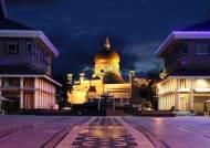 황금지붕에 화장실 255개…세계 최대 궁전서 '신'과의 악수