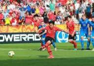 이강인 PK 선제골...한국, U-20 월드컵 결승 초반 리드