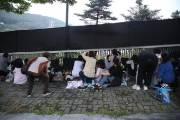 2만명 넘게 몰린 BTS 부산 공연 일부 항의·마찰 소동