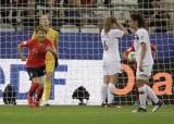 한국 여자 축구 마지막 자존심 지킨 여민지의 '첫 골'