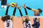 김연경 21점 분전 女배구, 접전 끝에 도미니카에 1-3 패배