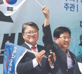 """조원진 """"박근혜의 신당 지지 메시지, 추석전 나올 것"""""""