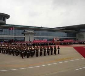 김일성 시신있는 태양궁서 시진핑 환영식···북중 친선 과시