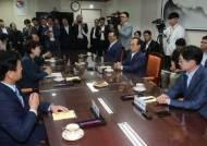 서울 온 'PK 삼총사', 신공항 재검토 총리실로 끌어 올렸다