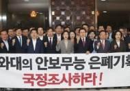 """한국당, 北목선 사건 부대 방문 거부 당해…""""장병 사기 저하"""""""