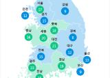 [6월 24일 PM2.5]  오후 5시 전국 초미세먼지 현황