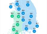 [6월 24일 PM2.5]  오전 6시 전국 초미세먼지 현황