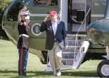 트럼프 29일 1박2일 방한, 문 <!HS>대통령<!HE> DMZ 동행하나