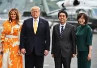 """""""트럼프, 미일 안보조약 파기 시사""""…日 군비증강 명분 주나"""