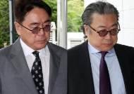 """한진가 조남호·정호 회장 벌금 각 20억원 선고…""""450억원 상속재산 미신고"""""""