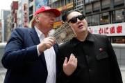 [서소문사진관] 트럼프-김정은 G20 열리는 日오사카 입성(?)