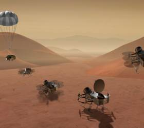 NASA, 2026년 '토성의 <!HS>달<!HE>'에 최초로 비행 <!HS>탐사<!HE>선 보낸다
