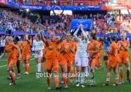 여자월드컵 4강 대진 확정…미국 VS 잉글랜드, 네덜란드 VS 스웨덴