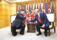 톱다운 불씨 되살린 53분 대화, 사실상 3차 북·미 회담