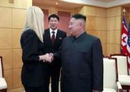 북미 DMZ 회동때 이방카도 참석···악수한 김정은 환한 미소