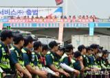 서울톨게이트 고공농성 이틀째…사측과 협상 '평행선'
