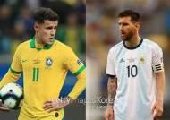 브라질 '삼바' vs 아르헨티나 '탱고'···결승행 춤은 누가?