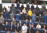 [사진] 유럽의회 개원식 … 등 돌린 영국 브렉시트당