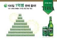 [화제의 맛] 100일 만에 1억 병 팔린 새 맥주 '테라'