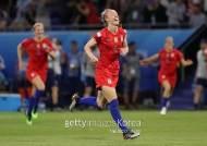 여자 축구 세계 최강 미국, 3회 연속 월드컵 결승 대기록