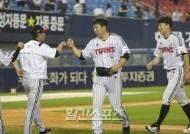 """류중일 감독 """"선발-계투 호투, 채은성·전민수 좋은 활약"""