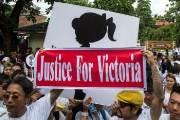 2살 유아 성폭행, 충격의 미얀마...분노한 시민들 거리로