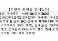 '부진한 입국장 면세점'…첫달 매출 55억원·이용인원 5만명