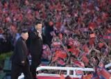 김일성 50만, 시진핑 25만 인파…북·중 혈맹이 살아났다