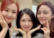 정다은X오정연X이선영, KBS 전현직 아나운서의 단아한 미소