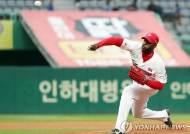 '완벽 부활' 소사, 7이닝 9K 1실점 호투로 시즌 4승 눈앞