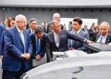 레우벤 리블린 이스라엘 대통령, 현대차그룹 남양연구소 방문